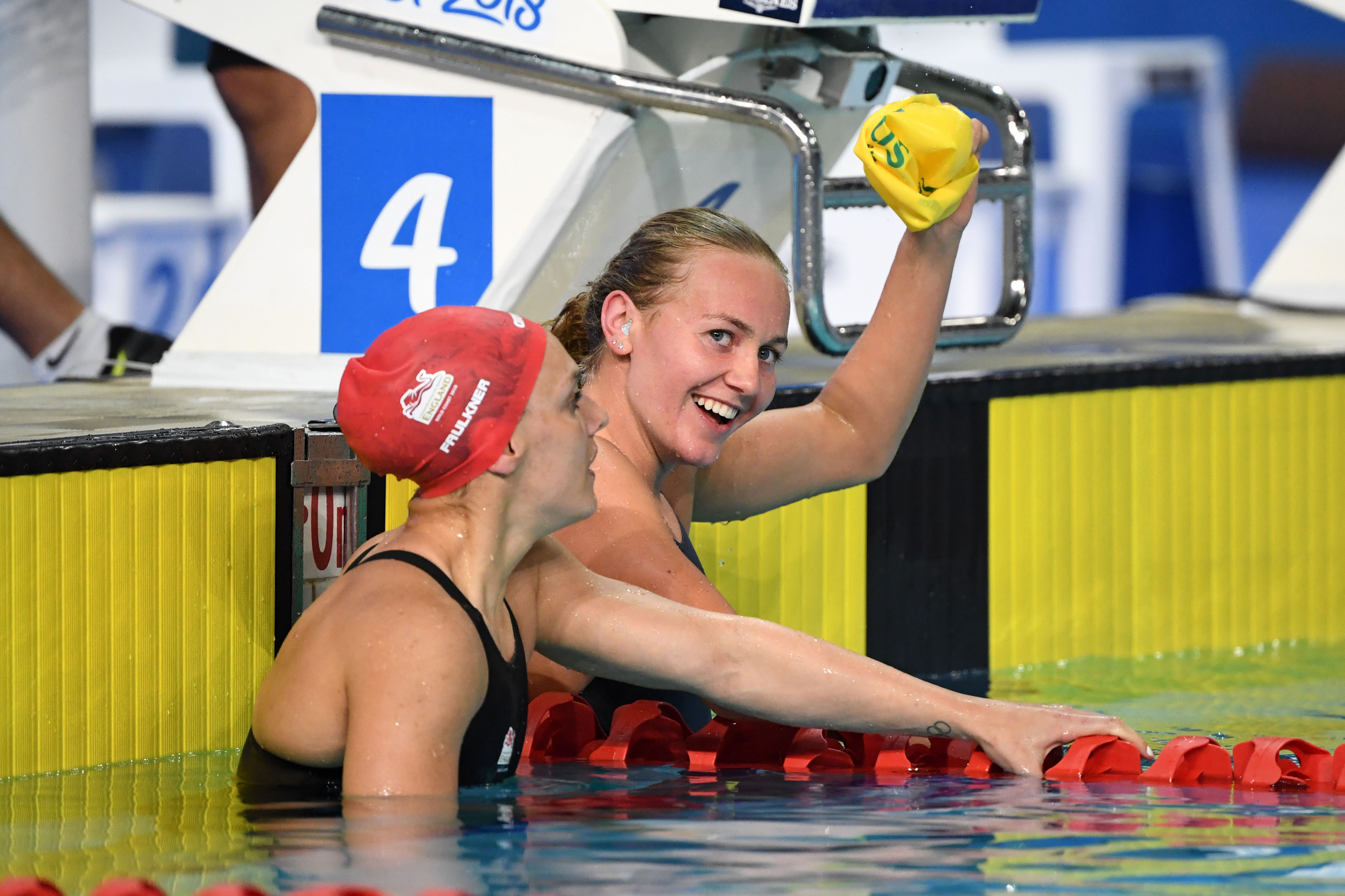 Ariarne wins the 400m free at the Commonwealth Games