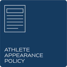 Athlete Appearance Policy